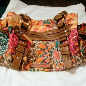 Handbags - LILLY BLOOM Triple Section Satchel Purse